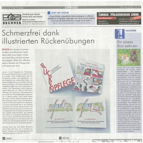 Rigi Anzeiger Print